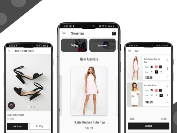 ecommerce android app template