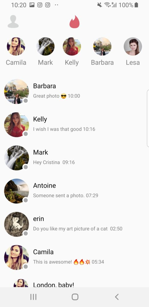 android app template tinder