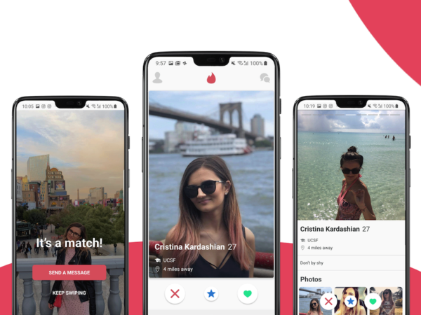 android dating app template