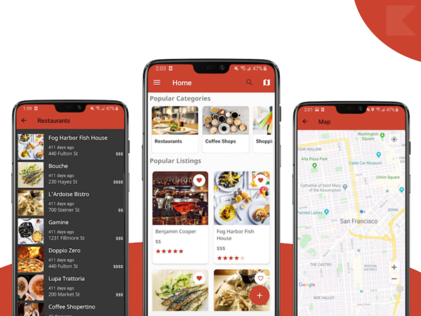 store locator android app template
