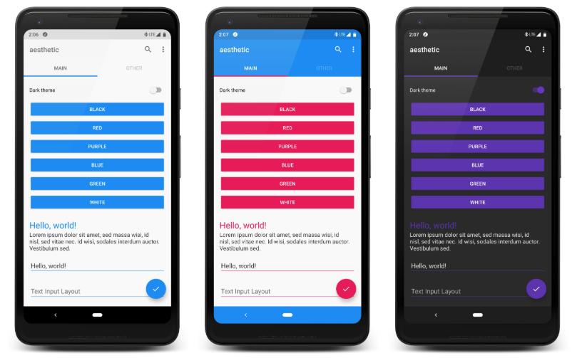 free kotlin app templates